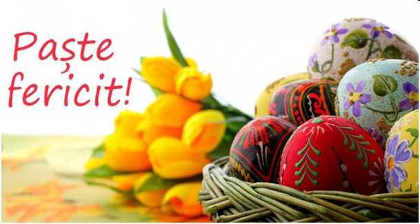 Felicitări cu ocazia sărbătorilor pascale